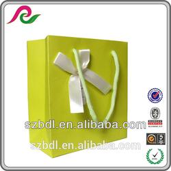 Luxury custom paper bag, OEM production paper shopping bag&handle colorful printed paper bag