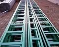 Chine fabrication et d'approvisionnement en acier revêtu époxy composite échelle de câbles