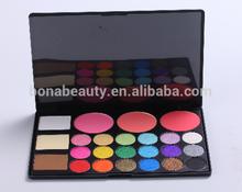 2014 hot sale christmas 18 colors eyeshadow 3 blusher 3 bronzer combination of eyeshadow palette