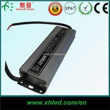 IP67 LED 24v 60w switching power supply