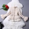 ms81243b nova moda quente grosso mulheres modelo de casaco curto