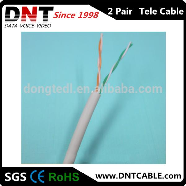 Kabel Telepon 2 Pair 2 Pair Kabel Telepon
