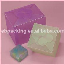 Unique transparent gift packaging boxes wholesale