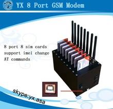 wavecom gsm 8 port modem serial,multi 3g router 8 sim card slots,free-internet-devices free sms sending device bulk sms gateway