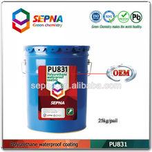 One Component Self Leveling Waterproof Coating PU831