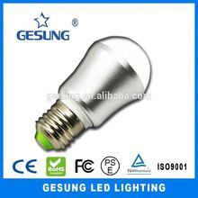 CE&ROHS dimmable e14 led lighting bulb parts 3w led bulb