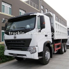 HOWO A7 dump truck with beautiful and comfortable interior