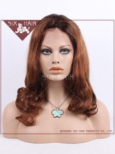 Hot selling T color Human hair full lace wig,Virgin brazilian full lace wigs,Supply 7A grade human hair wig