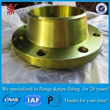Manufacturing CS A234 WPB asme b16.5 wn rtj carbon steel flange