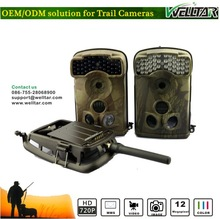 2014 Hot Sale Remote Control Covert Scouting Hunting Trail Camera With GSM/GPRS/MMS