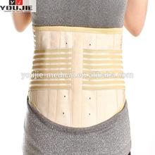 breathable lumbar back support belt with bag, back belt