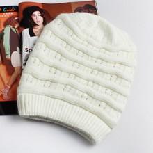 Hip Hop Winter Knitted thin men Long Beanies Hats