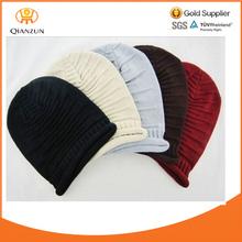 Knit Men's Women's Baggy Beanie Oversize Winter Hat Ski Cap Skull 5 Colour