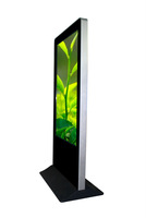 Wonderful large size touch screen shopping mall kiosk