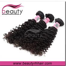 malaysian kinky curly hair weft blonde