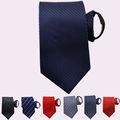 Venta al por mayor los hombres alta calidad de la cremallera corbatas, Lazo de la cremallera, Perezoso corbata