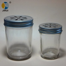 86mm silver daisy cut style metal lug cap for manson jar