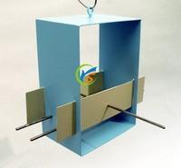 Decorative garden Rectangle hangying metal bird feeder
