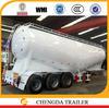 45cbm 3axles bulk cargo tank semi trailer