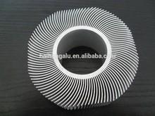 sunflower extruded aluminum profile heatsink