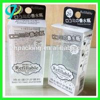 Custom printing logo Plastic packaging / PVC Packaging Box
