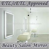 CE UL cUL LED Lighted Beauty Salon Mirror