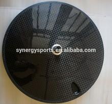 high strength carbon Disc clincher wheel