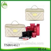 2014 china new product popular PU women pattern cosmetic bag organizer