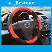 Genuine leather car steering wheel cover for Honda,Toyota