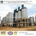 espiral del silo de cemento del silo de cenizas volantes para silo de almacenamiento industrial
