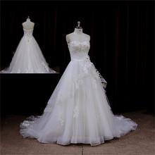 New model 2014 shining lace wedding dresses with keyhole back 2012