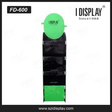 Free standing paper liner reflective cardboard display pedestals