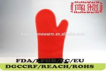 Resistente al calor de silicona y del hogar del algodón guante mitt o Potholders colchonetas aislantes rejilla del ventilador de accesorios