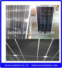 150W 12V monocrystalline solar pv panel with lower price