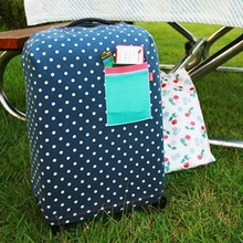 Elastic material luggage cover travel bags / dust cover (S)