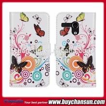 Hot sale for Motorola Moto G flower pattern wallet leather case