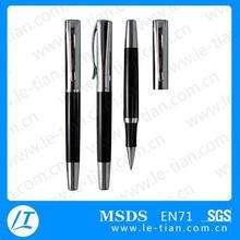 LT-W782 2015 hot selling promotional gel metal roller pen with cap