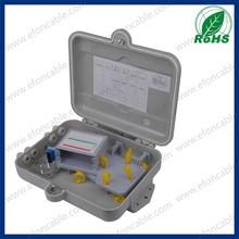 PC + ABS 16 PORTS ftth optical fiber terminal box / ftth outdoor fiber cabinet