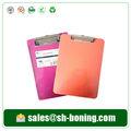 Preço de fabricante a3/a4/a5/a6/fc transparente prancheta na venda