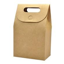Custom-Printed brown paper food bag