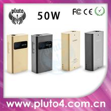 2014 new big square 50 Watt.wood box mod full mechanical mod