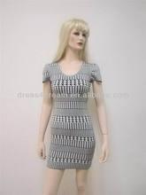 Rayon spandex bandage dress usa Guangzhou manufacturer