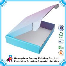 Alibaba china custom color wholesale shipping boxes
