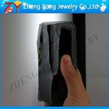 Wuzhou CZ material rough dark olive cubic zirconia material