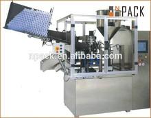 automatic ultrasonic plastic tube filling sealing machine