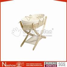 solid wood multi-purpose nursery baby crib