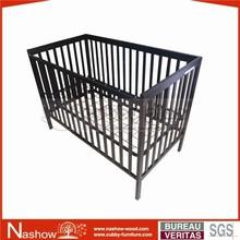 solid wood sleeping nursery baby crib
