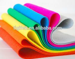 Color felt sheet polyester felt