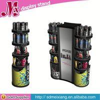 wooden display cases, MX7675 motor oil display rack