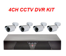 HDMI DVR KITS 600 TVL CCTV Home Security 4Channel Security Camera System Kit